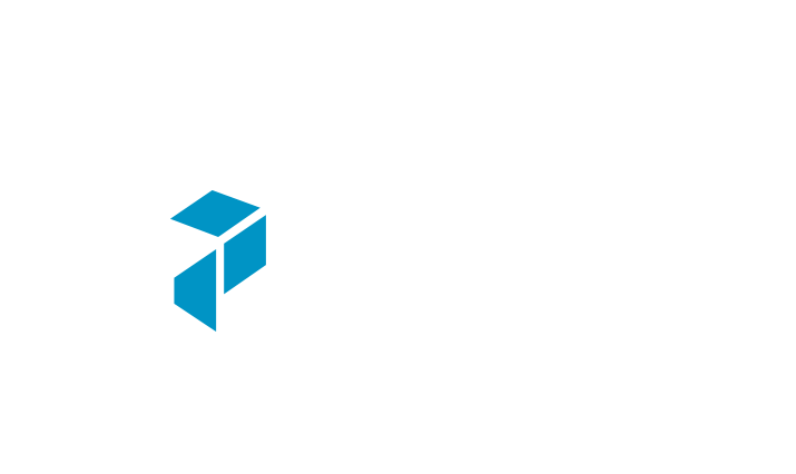 Logo Peraplas Middle East, blue